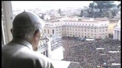 2013-02-24 美國之音視頻新聞: 教宗本篤16世主持任內最後一次公開祈禱