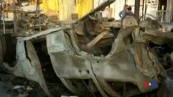 2014-05-11 美國之音視頻新聞: 伊拉克多宗炸彈爆炸造成20多人喪生