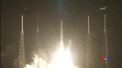 2014-09-21 美國之音視頻新聞: SpaceX太空船前往國際太空站