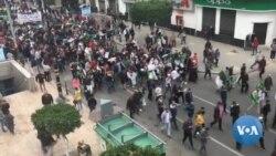 Imyiyerekano yo Kwiyamiriza Prezida Bouteflika wa Algeriya Irakomeje
