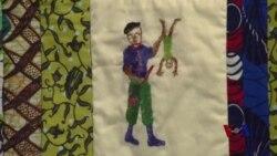 缝制被子有助于减轻战争和暴力创伤