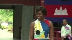 Michelle Obama - Cambodia