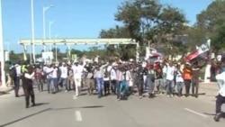 Chegada de Dhlakama a Maputo