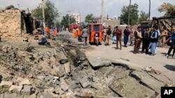 9일 아프가니스탄 수도 카불에서 부통령을 노린 폭탄 테러가 발생했다.