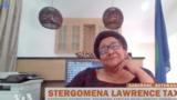 Dr.Stergomena Lawrence Tax,igihe yari umuyamabanga nshingwabikorwa wa SADC