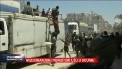Inspektori Organizacije za zabranu hemijskog oružja ušli su u sirijski grad Dum