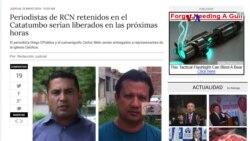 ELN entregaría a periodista de RCN