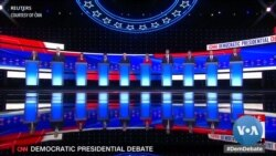 Democratic Debate Features Clash Between Moderates and Progressives