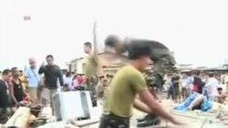 تلفات ناشی از توفان بحری در فلیپین