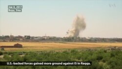 US-backed Syrian Forces Push Deeper into Raqqa
