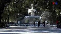 Amerikada şaxtalı hava şəraiti davam edir, Floridaya da qar yağıb