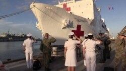 Huracán Michael hace zarpar anticipadamente el buque-hospital Comfort