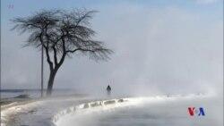 寒流席捲美國中西部