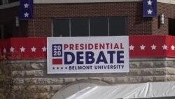 2020总统大选候选人面对面最后辩论