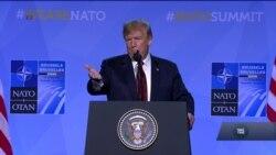 Заяви Трампа про Крим та зустріч з Путіним. Підсумки саміту НАТО. Відео