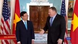 Truyền hình VOA 24/5/19: Ngoại trưởng Mỹ-Việt họp tại Washington