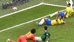 Os melhores momentos e reacções do Brasil vs México