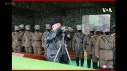 北韓在週一試射兩枚短程射彈