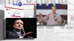 VOA60 Elections - Kasich, Cruz Join Forces in Bid to 'Stop Trump'