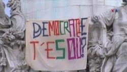 """Fransada """"Nuit Debout"""" hərəkatı"""