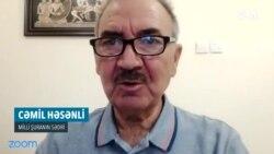 """Cəmil Həsənli: """"Bu, Tofiq Yaqubluya qarşı qisasçılıqdır"""""""