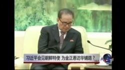 时事大家谈: 习近平会见朝鲜特使,为金正恩访华铺路?