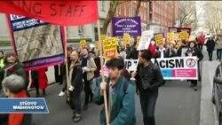 İngiltere'de Profesörlerin Yürüyüşü