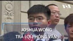 Joshua Wong trả lời phỏng vấn VOA Tiếng Việt