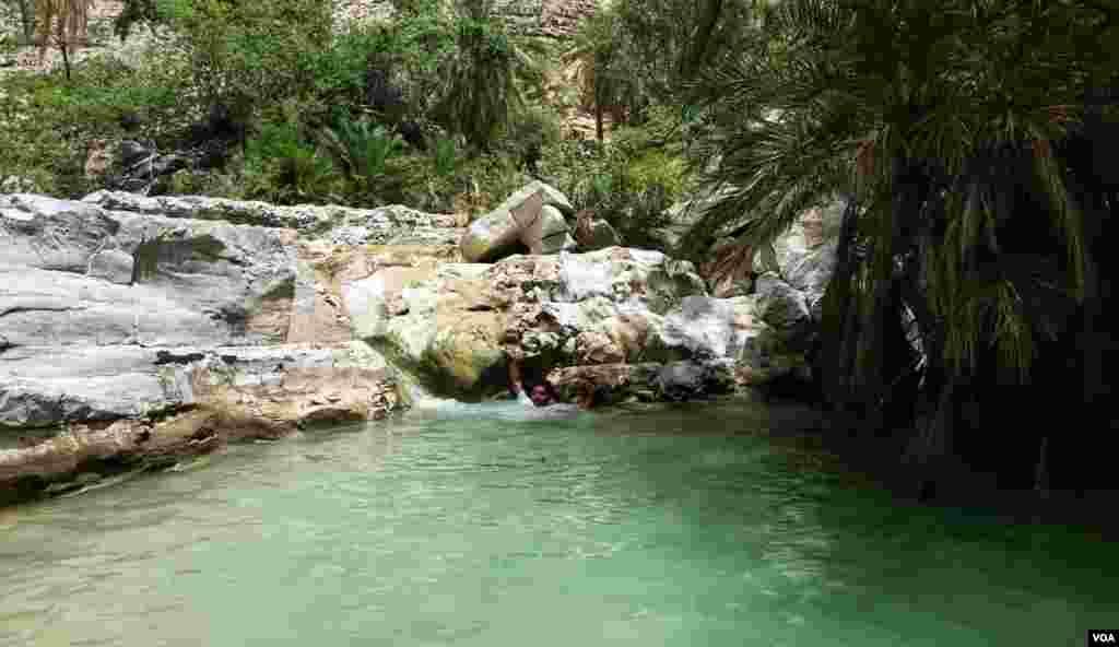سنگلاخ درختوں کی کوکھ سے پھوٹتا پانی اسے سیاحتی مرکز کا درج دیتا ہے۔