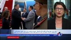 چه جزئیاتی از سفر وزیر خارجه آمریکا به کره شمالی می دانیم؛ گزارش گیتا آرین