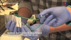 Nueva batería de aluminio revelada