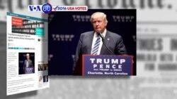 Ông Trump muốn những người ủng hộ bà Clinton không đi bầu (VOA60)