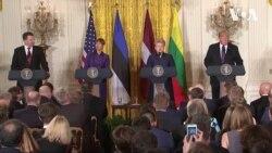 Україна – одна з провідних тем американсько-балтійського саміту у Вашингтоні. Ексклюзив. Відео