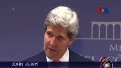 """Kerry: """"Yeni Yerleşimlere Karşıyız"""""""