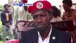 """VOA60 AFIRKA: A Uganda jagoran 'yan adawa Bobi Wine yayi Allah wadai da 'ukuba"""" da """"cin mutunci"""" da ya ce an yi mushi"""