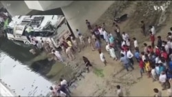INDIA DEADLY BUS CRASH