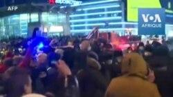 Russie: arrestations à l'aéroport de Moscou avant l'arrivée d'Alexeï Navalny -