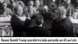 Umuhango wo Kurahira kwa Perezida muri Amerika