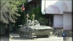 10 років від початку російсько-грузинської війни. Відео