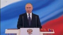2018-05-07 美國之音視頻新聞: 普京第四次宣誓就任俄羅斯總統