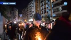 Lübnan'da Yeni Hükümete İlk Protesto