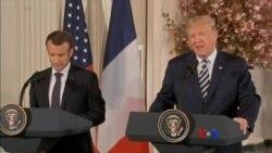 သမၼတ Macron ခရီးစဥ္နဲ႔ ျပင္သစ္-အေမရိကန္ ဆက္ဆံေရး