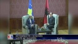 Kryeministri i Kosovës në Tiranë