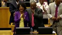 Ramaphosa promet de s'attaquer à la corruption (vidéo)