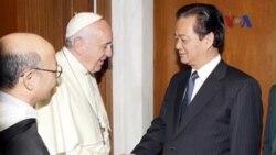 Việt Nam-Vatican cam kết khôi phục bang giao