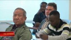 Lớp học tiếng Anh cho dân tị nạn
