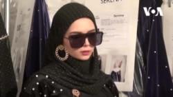 Karya Desainer Vivi Zubedi di New York Fashion Week