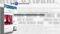 VOA60 Elections - Clinton still widely popular in South Carolina