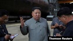 Le dirigeant nord-coréen Kim Jong Un.