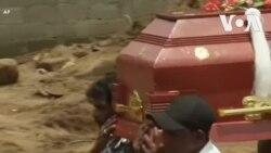 Chôn cất tập thể cho các nạn nhân vụ đánh bom Sri Lanka